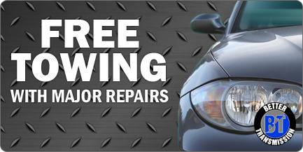 Free Towing with Major Repairs